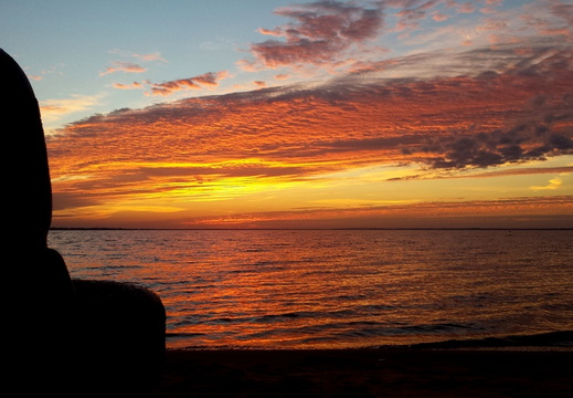 2013-11-10 Pensacola Bay Sunrise