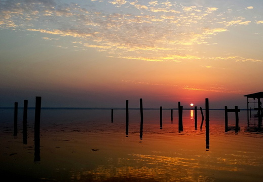 2014-05-25 Pensacola Bay Sunrise
