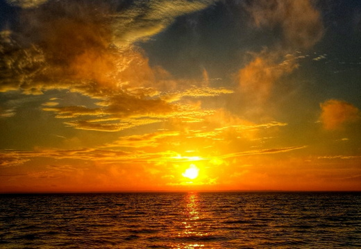 2014-09-14 Pensacola Bay Sunrise
