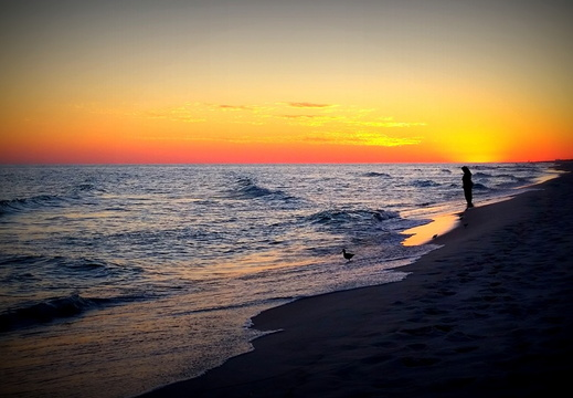 2014-10-19 Pensacola Beach Sunset
