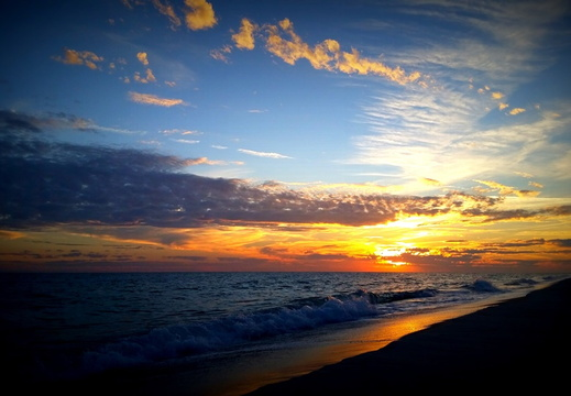 2015-01-17 Pensacola Beach Sunset