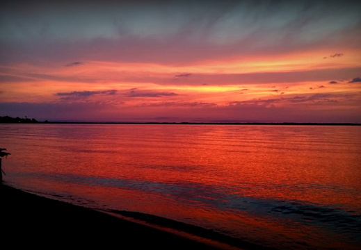 2015-08-09 Pensacola Bay Sunrise