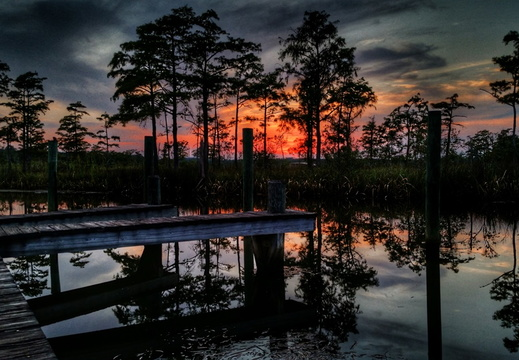 2015-09-01 Ferry Pass Bayou Sunset