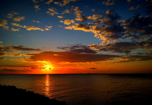 2015-09-16 Pensacola Bay Sunset