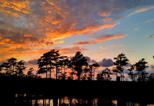 2015-09-21 Ferry Pass Bayou Sunset