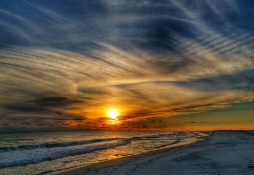 2016-01-10 Pensacola Beach Sunset