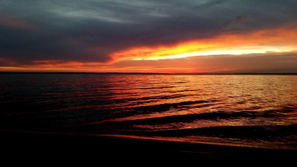 2014-11-09 Pensacola Bay Sunrise