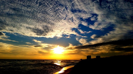 2015-01-31 Pensacola Beach Sunset