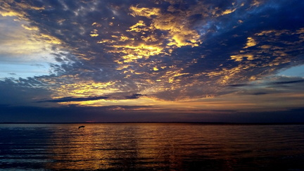 2015-03-15 Pensacola Bay Sunrise