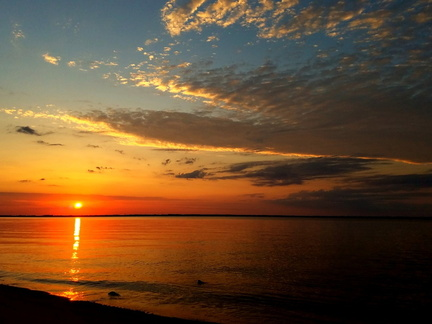 2016-05-29 Pensacola Bay Sunrise
